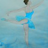 1-Blue Ballerina, 11x15, watercolor dec 19, 2015 DSCN9209