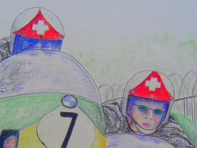 detail-Jean-Claude & Albert Castella, IoM, 1971, 14x17, color pencil, feb 27, 2015 CIMG9567