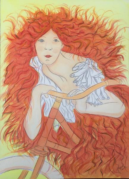 Perfecta Cycles, 10x14, watercolor, aug 15, 2015  IMG_3993