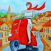 1-  Italia - La dolce vita  11x15, watercolor, nov 30, 2015 DSCN9147