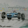1-Jackie Stewart, Matra MS80   In the Rain at Nurburgring, 1969  14x17, graphite & color pencil, completed sep 13, 2015 DSCN0858a