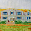 Dave & Dana's House, 15x22, watercolor, oct 4, 2015 DSCN8397