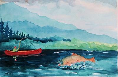 Fish On!, jan 8, 2016