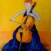 1 1 166-The Cellist, 16x20, oil on canvas board, march 12, 2016 DSCN0166