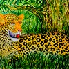 The Leopard, 21x30, watercolor, nov 9, 2016 DSCN05421