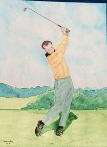 Arnie, 1960   9x11, watercolor, jan 28, 2016c