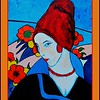 Homage to Jeane Hebuterne, 11x14, acrylic, dec 7, 2016 DSCN06741-A