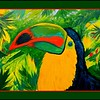 1-Keel-billed Toucan, 11x14, acrylic, dec 9, 2016 DSCN06881-A