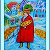 1-Homage to Gabrielle Munter, 16x20, acrylic, dec 31, 2016 DSCN9768