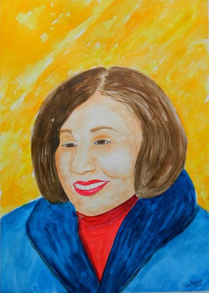 Jill, 11x15, gouache & watercolor, nov 21, 2016 DSCN05571