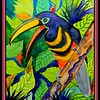 -Many-banded Aracari, 9x12, watercolor, april 6, 2018.DSCN0020-002