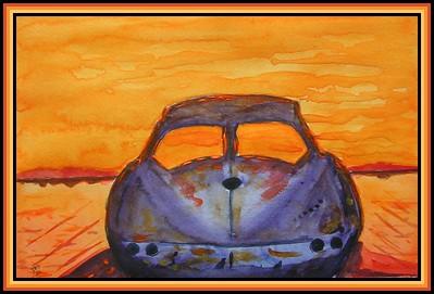 18-Lost Vette, 7.5x12, watercolor & acrylic, feb 6, 2020.PICT0003A