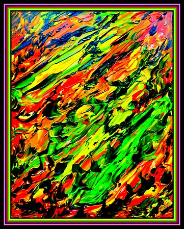 41.Abstract #1, 11x14, acrylic on clayboard, march 22, 2020. gift to Pete Schmitz, Grayslake, IL, 6.29.20