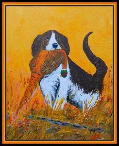 29-Good Girl! 11x14, acrylic on canvas panel, feb 28, 2020.