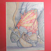Arizona Boots, 2003, color pencil, 10 5x13 5