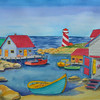 Nova Scotia Harbor, watercolor, 15x22  july 28, 2012  DSCN1356ss