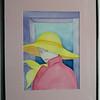 25  Pink Lady - watercolor, 14x10  DSCN2611s