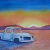 Pickup, 10x14 watercolor,nov 26, 2012  CIMG8085