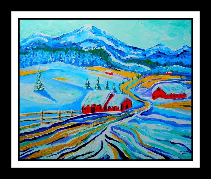 1-1B - -January Thaw II, 16x20, acrylic on canvas, may 12, 2017 DSCN99931