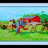 1-Homage to Winslow Homer - Snap the Whip, 14x22, watercolor, jan 6, 2017 DSCN97891
