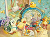 "<h2> Just Ducky </h2>  22""h x 30""w Pure Transparent Watercolor Framed $2300.oo"