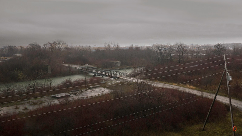 Bridge over the old Welland Canal