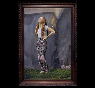 "Oil on canvas. 24"" x 36"". 2014"