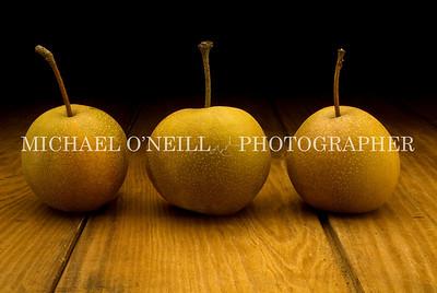 3 asian pears