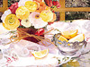"<h2>Lemons And Lace</h2>  <b>SOLD</b>  30""w x 22""h Pure Transparent Watercolor"