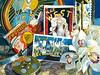 """<h2> Golden Age </h2> Pure Transparent Watercolor  22""""h x 30""""w"""