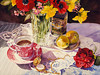 "<h2> High Tea </h2>  <b>SOLD</b> 30""w X 22""h Pure transparent Watercolor"