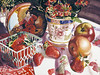 """<h2> Dolce Rosso </h2> SOLD Pure Transparent Watercolor  22""""h x 30""""w"""