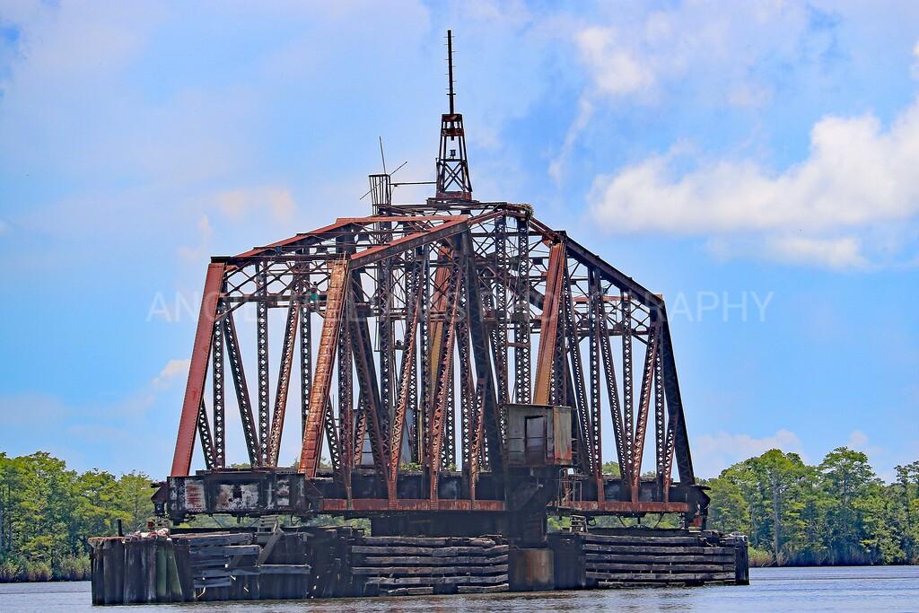 Deserted Railroad Bridge