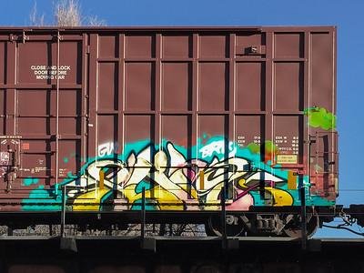 Graffiti on the South Platte