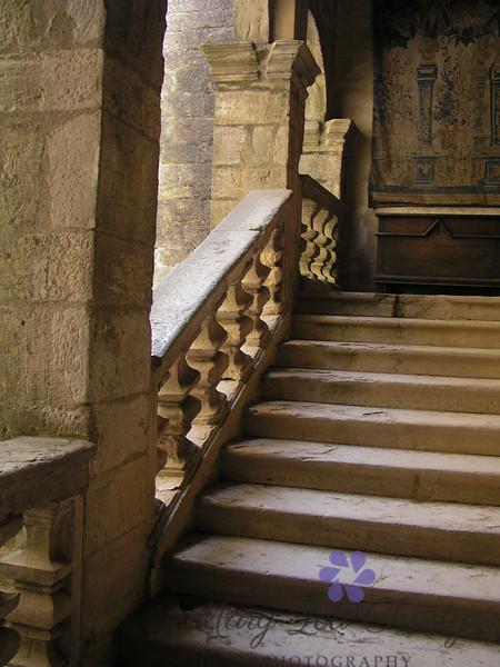 Castle Steps, Beynac, France