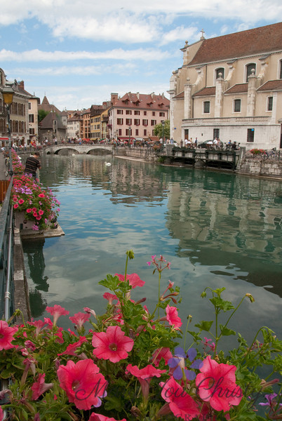 Annecy, France. One of the most beautiful towns in Europe.