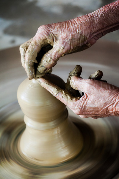 """The Potter's Hands""  © 2011 - Nicole S. Young"