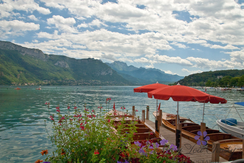 Lake Annecy, one of the cleanest lakes in Europe.