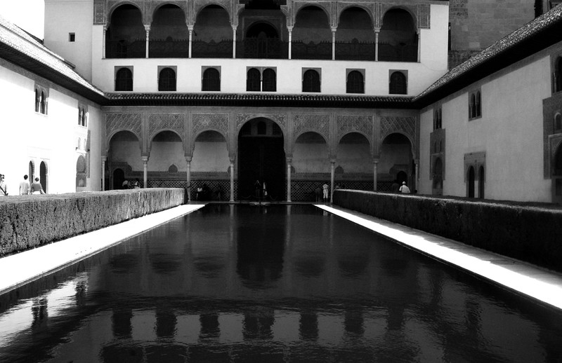The Alhambra, Granada, Espana, July, 2007