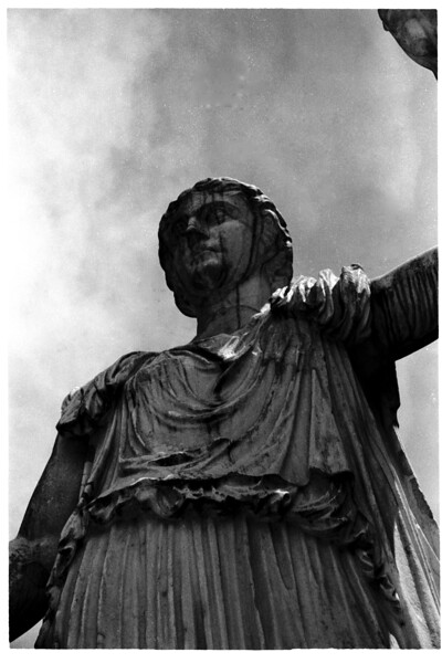 Statue @ the Bobali Gardens, Firenze, Italy, July, 2001