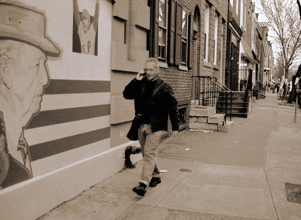Outside Dirty Franks, Philadelphia, PA, circa 2003