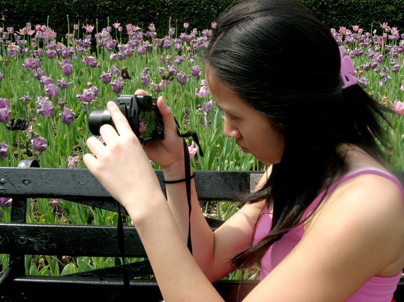 Lisa, Central Park, May 2007
