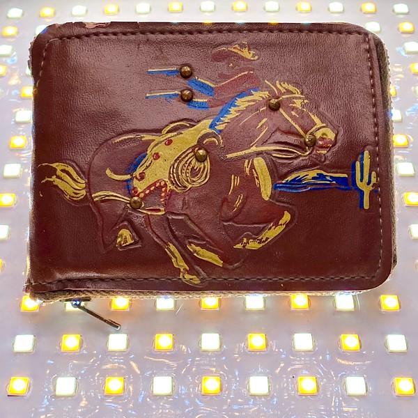 Childhood wallet, ca. 1981