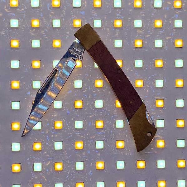 Childhood pocket knife, ca. 1986