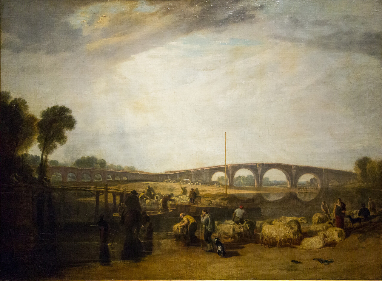 Walton Bridges exhibited 1806