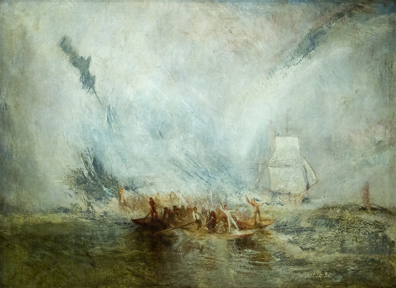 Whalers exibited 1845