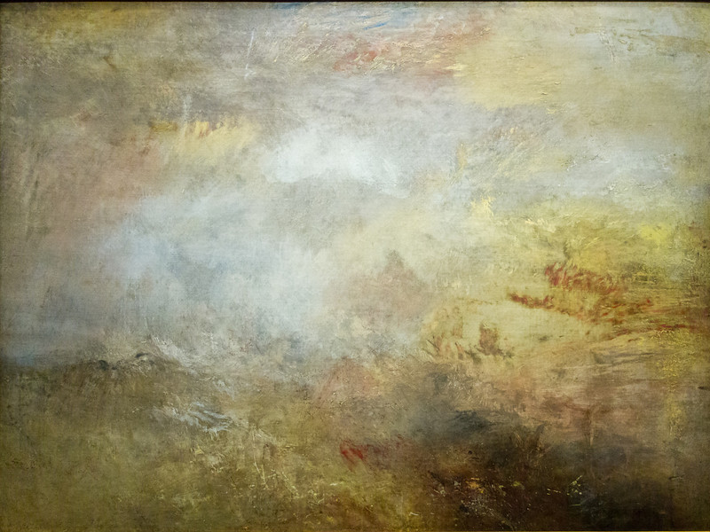 Stormy Sea with Dolpins 1835-40