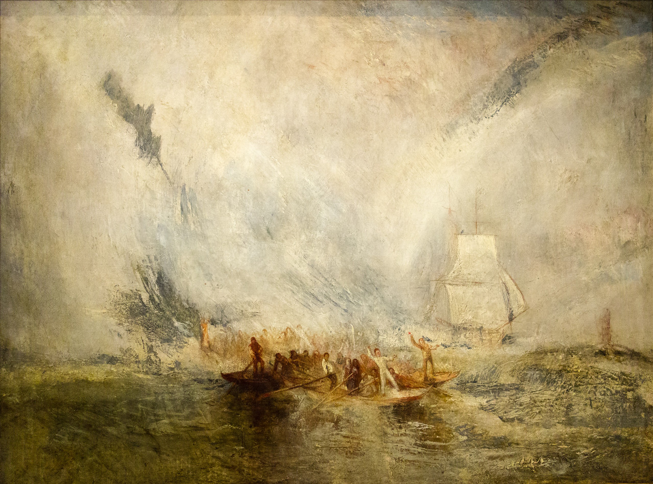 Whalers, Exhibited 1845