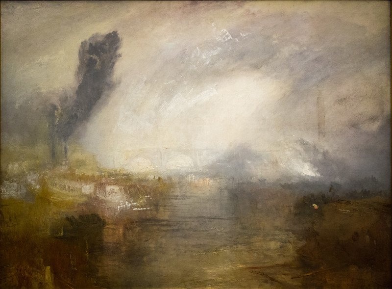 The Thames above Waterloo Bridge 1830-35