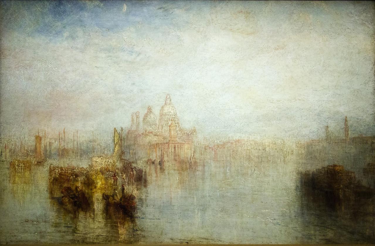 Venice - Maria della Salute exhhibited 1844